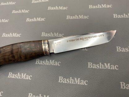 Лазерная гравировка на ноже